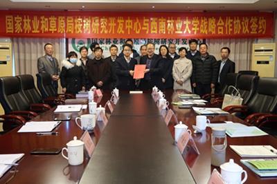 桉树中心与西南林业大学签署战略合作协议